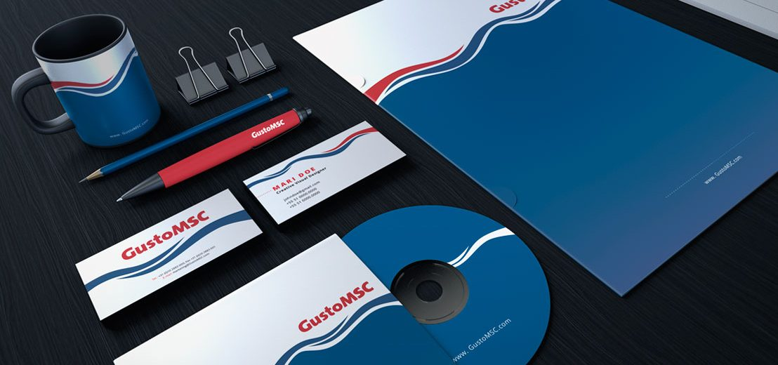 GustoMSC Houston Oil and Gas Stationery Design