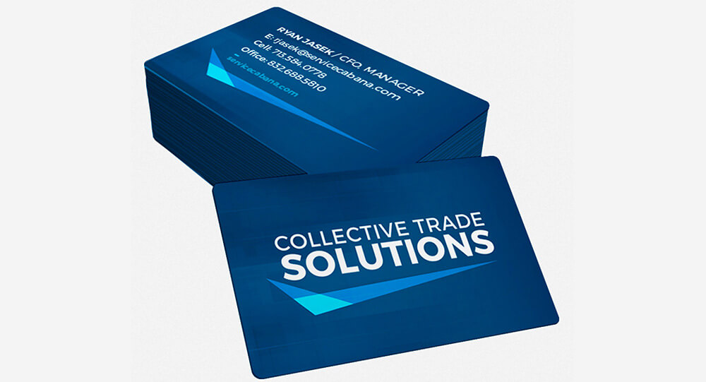 Collective Trade Solutions Business Card Design