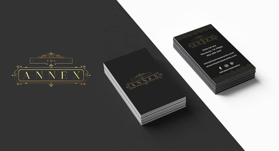 Wedding Ranch Logo and Business Card Design