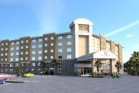 Commercial Hotel 3D Rendering