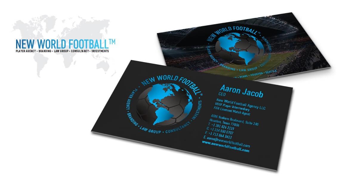 Soccer Agency Logo Design