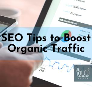 SEO tips to boost organic traffic